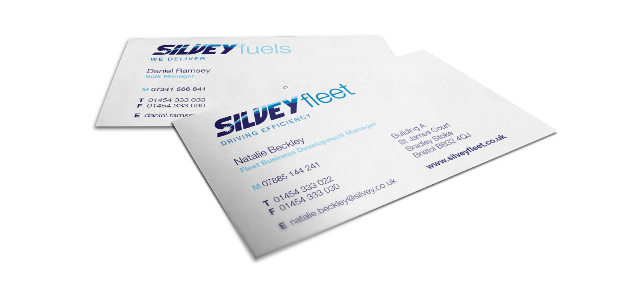 Silvey Business Cards